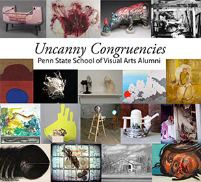 Cover image for Uncanny Congruencies: Penn State School of Visual Arts Alumni Edited by Micaela Amateau Amato