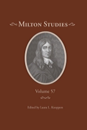 Cover image for Milton Studies: Volume 57 Edited by Laura L. Knoppers