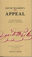 Cover for David Walker's Appeal to the Coloured Citizens of the World