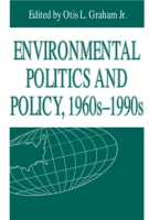 Cover for Environmental Politics and Policy, 1960s–1990s