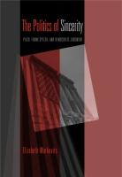 Cover for the book The Politics of Sincerity