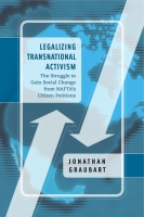 Cover for Legalizing Transnational Activism