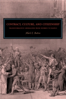 Cover image for Contract, Culture, and Citizenship: Transformative Liberalism from Hobbes to Rawls By Mark E. Button