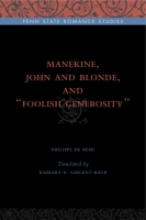 "Cover for Manekine, John and Blonde, and ""Foolish Generosity"""