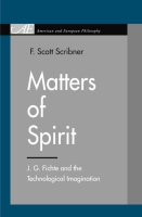 Cover image for the book Matters of Spirit By F. Scott Scribner