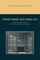 Cover for the book Opening Windows onto Hidden Lives