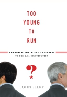 Cover for the book Too Young to Run?