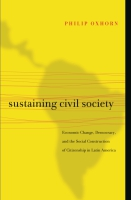 Cover image for the book Sustaining Civil Society By Philip Oxhorn