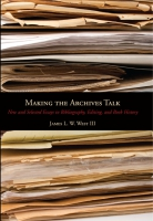 Cover for Making the Archives Talk