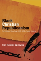 Cover for the book Black Christian Republicanism