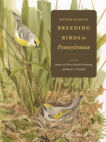 book cover for Second Atlas of Breeding Birds in Pennsylvania by Andrew M. Wilson