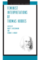 Cover for Feminist Interpretations of Thomas Hobbes