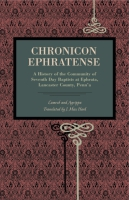 Cover for the book Chronicon Ephratense
