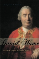 book cover for David Hume: Historical Thinker, Historical Writer Edited by Mark G. Spencer