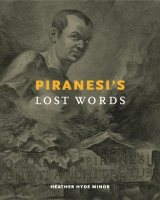 book cover for Piranesi's Lost Words Heather Hyde Minor