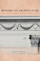 Cover for Remarks on Architecture