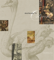 book cover for Raphael's Ostrich Una Roman D'Elia