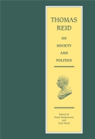 Cover for Thomas Reid on Society and Politics