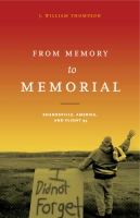 Cover for From Memory to Memorial