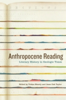 Cover for Anthropocene Reading