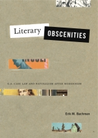 Cover for Literary Obscenities