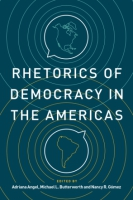 Cover for Rhetorics of Democracy in the Americas