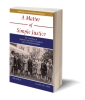 Cover for A Matter of Simple Justice