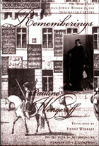 Cover for Rememberings