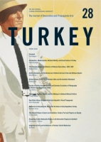 Cover image for The Journal of Decorative and Propaganda Arts: Issue 28, Turkey Theme Issue Edited by Sibel Bozdoğan and Jonathan Mogul