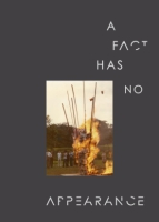 Cover image for A Fact Has No Appearance Edited by Russell Storer
