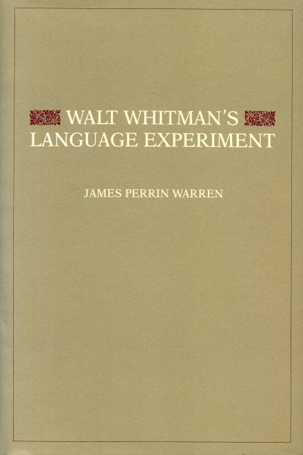 a poetic expression of walt whitman Walt whitman's take on 'slang in america' legendary writer of 'leaves of grass' waxes poetic on lowest form of english.