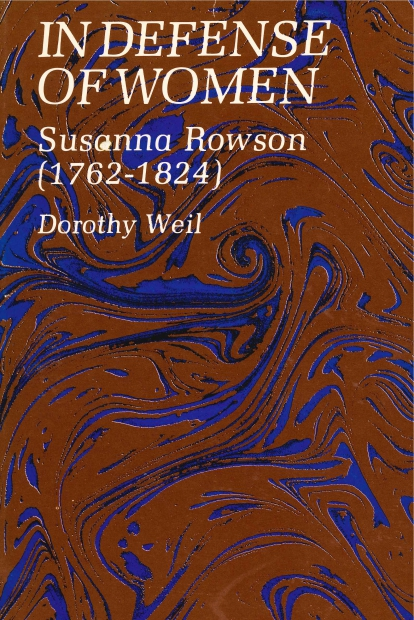 woman empowerment in susanna rowsons book charlotte temple What's wrong charlotte temple article book-length studies of rowson include ellen b in defense of women: susanna rowson (1762-1824) (university park, pa.