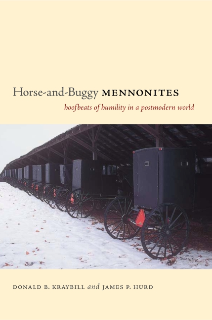 Sample chapter from horse and buggy mennonites hoofbeats of