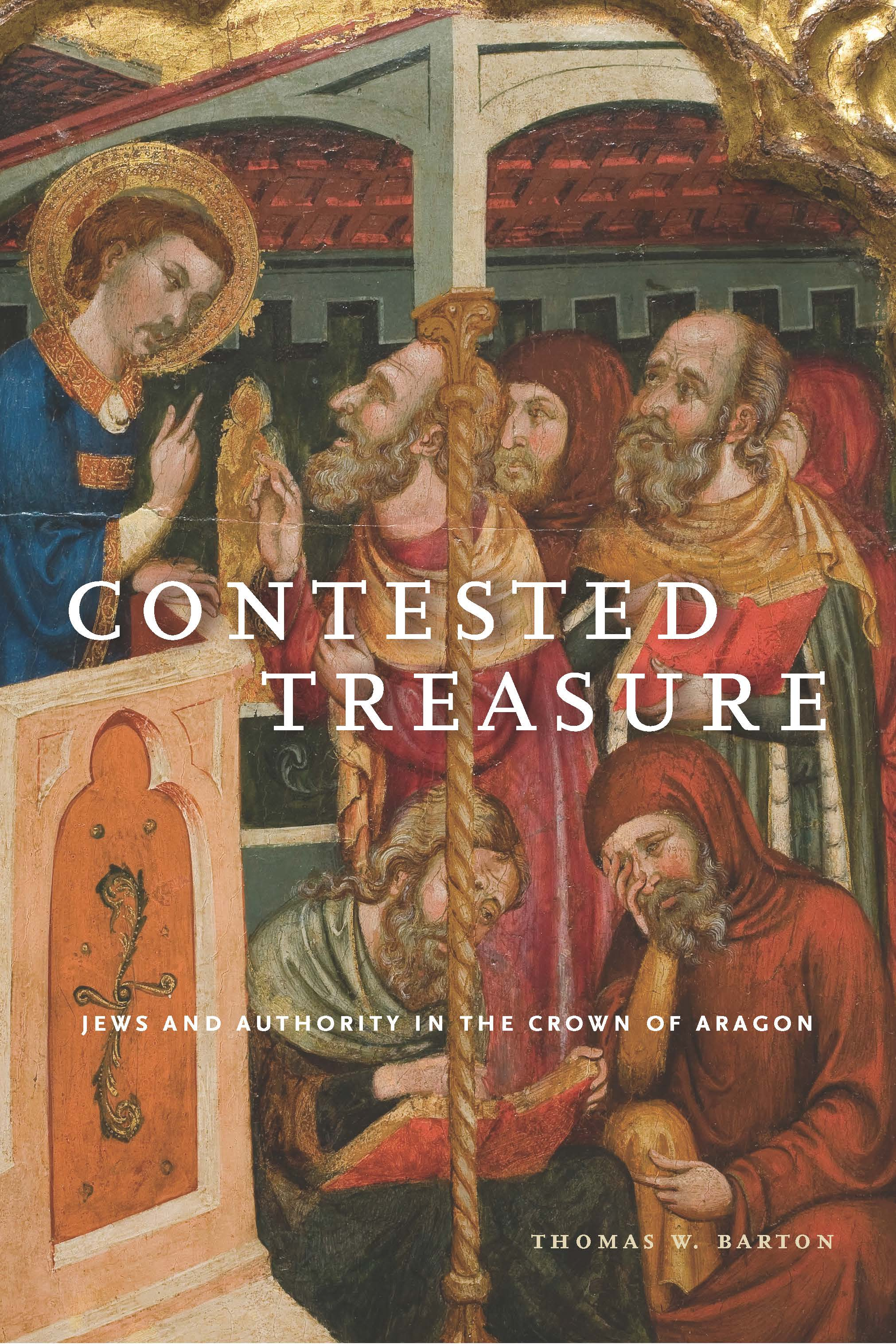 Image for news item Contested Treasure wins AJS Jordan Schnitzer Book Award