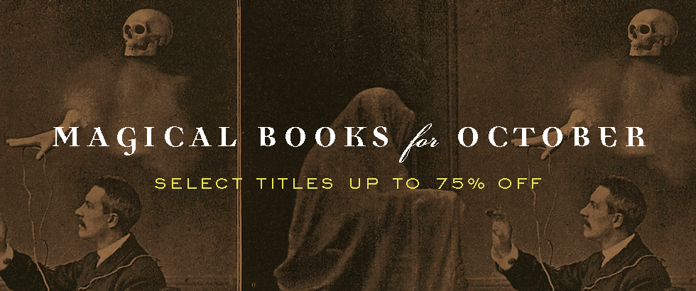 A Banner Promoting Discounted Spooky Titles for October