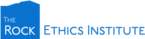 The mission of the Rock Ethics Institute is to promote ethical literacy and catalyze ethical leadership throughout the Penn State community and to foster interdisciplinary ethics research designed to address significant social issues and pressing world problems.