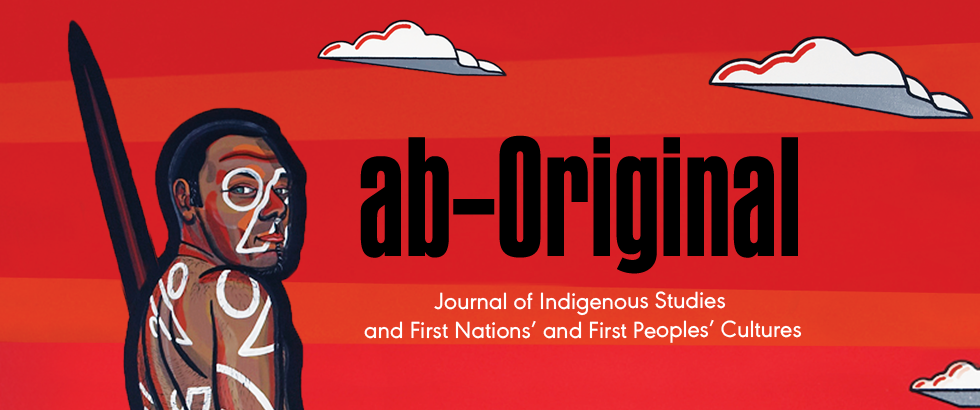 A Banner promoting Penn State University Press's Journal abOriginal