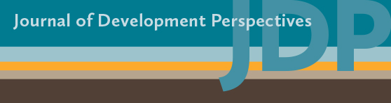 Banner ad for Journal of Development Perspectives