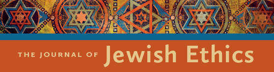 Banner ad for Journal of Jewish Ethics