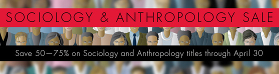 Banner ad for the 2015 Sociology and Anthropology Book Sale