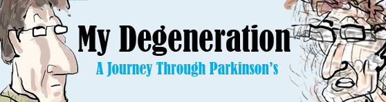 Banner ad for My Degeneration